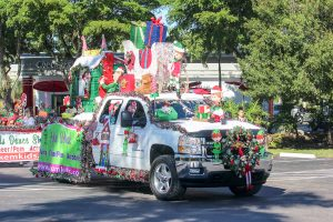 Decorated Parade Truck